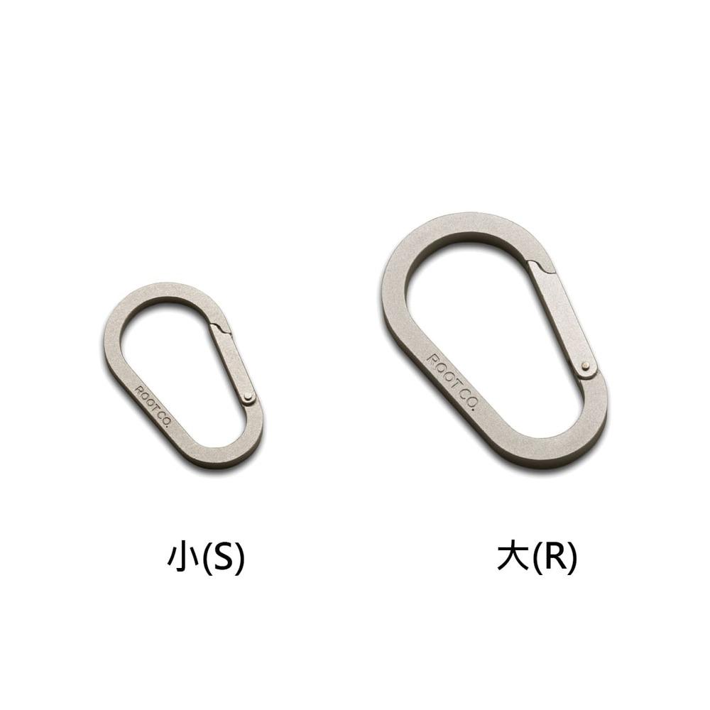 日本 ROOT CO.│Gravity Carabiner 鋁製扣環 - 共兩種尺寸