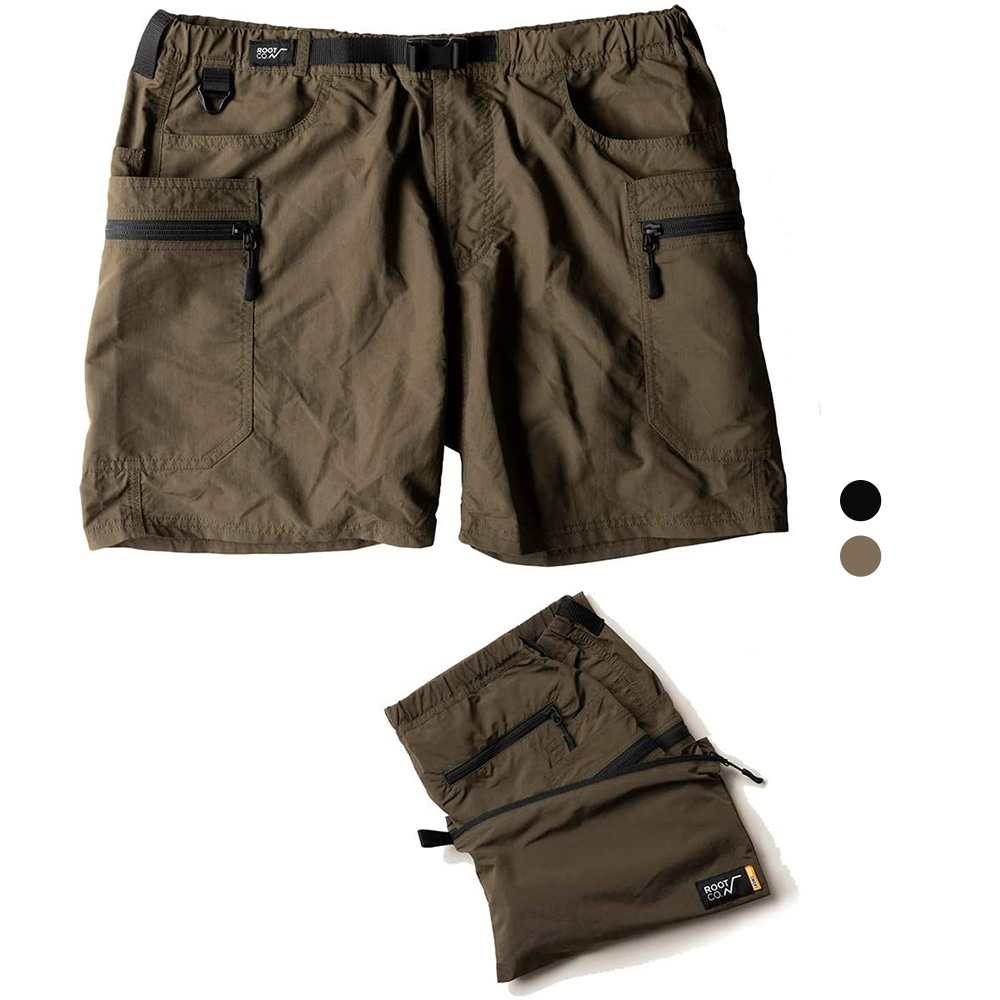 日本 ROOT CO.│GRIP SWANY 聯名登山休閒工作短褲 - 共兩色