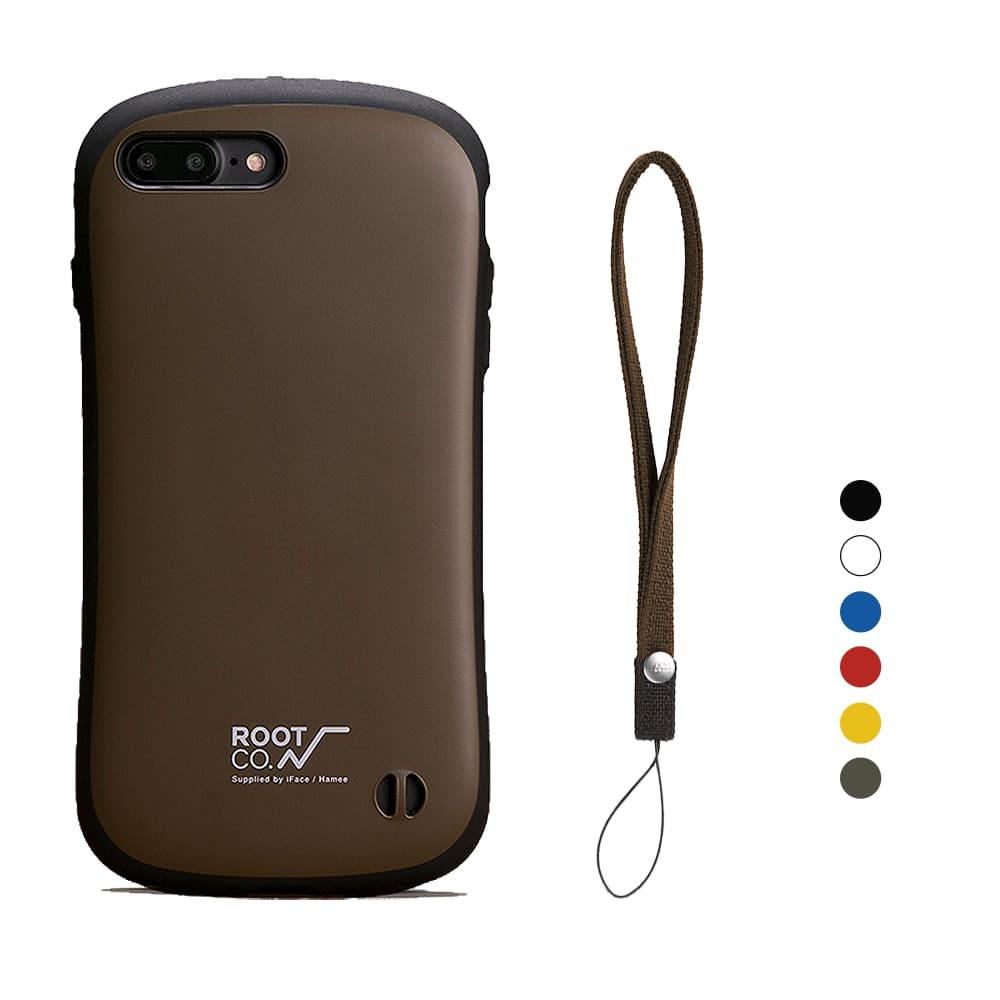 日本 ROOT CO.│iPhone 7 / 8 Plus iFace 小蠻腰+腕帶吊繩 - 共六色