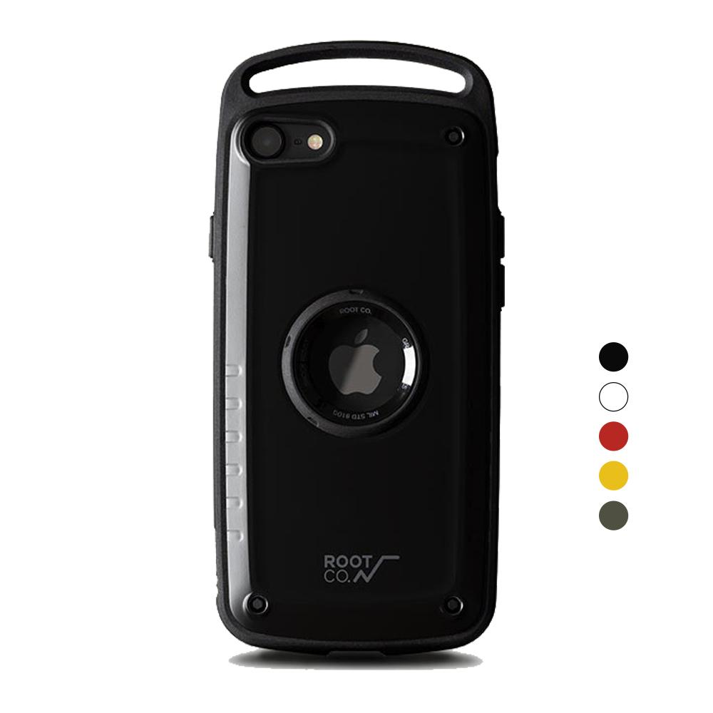 日本 ROOT CO.|iPhone SE 2020 Gravity Pro 單掛勾式軍規防摔手機保護殼 - 共五色