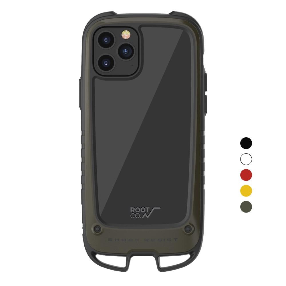 日本 ROOT CO.|iPhone 12 / 12 Pro Gravity Hold. 雙掛勾式軍規防摔手機保護殼 - 共五色