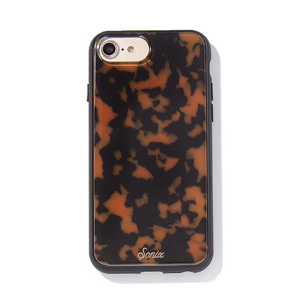 美國 Sonix|iPhone 7 / 8 / SE2 Brown Tort 琥珀豹動軍規防摔手機保護殼