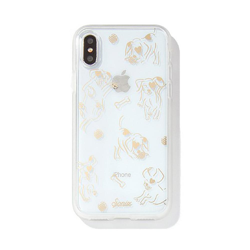 美國 Sonix iPhone X/XS Hush Puppy 雀躍小狗軍規防摔手機保護殼