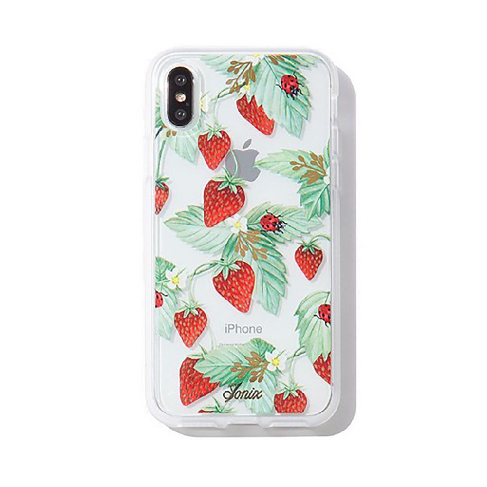美國 Sonix iPhone X/XS Fraise 莓果戀人軍規防摔手機保護殼