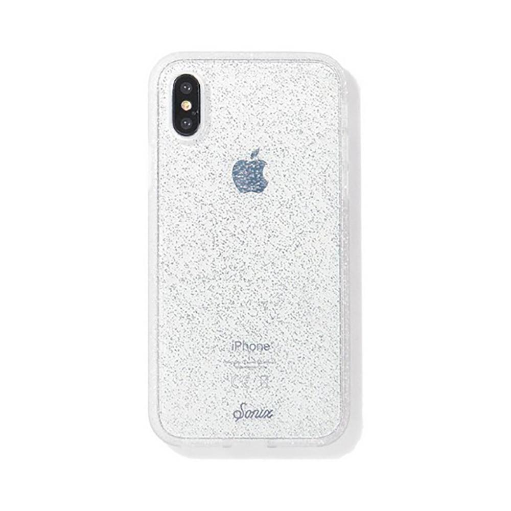 美國 Sonix|iPhone X/XS Silver Glitter 耀眼星空-銀軍規防摔手機保護殼