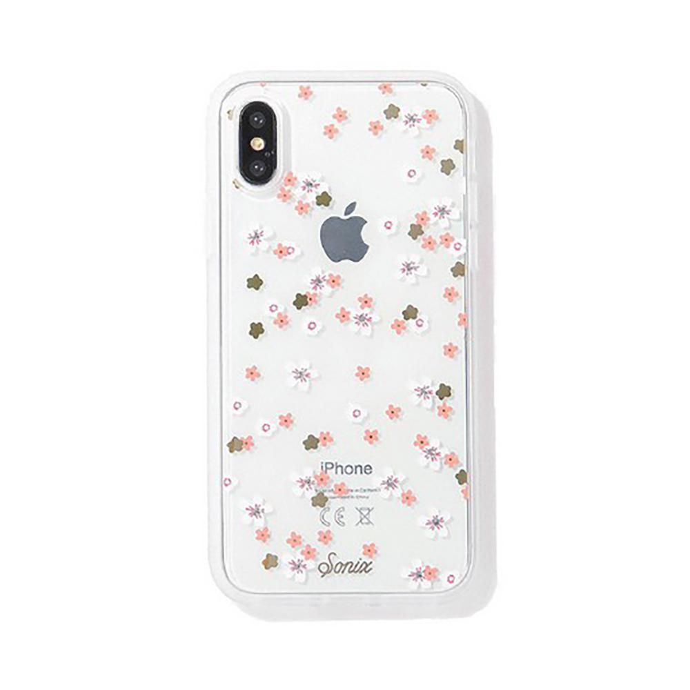 美國 Sonix|iPhone X/XS Rhinestone Floral Bunch 花花世界軍規防摔手機保護殼