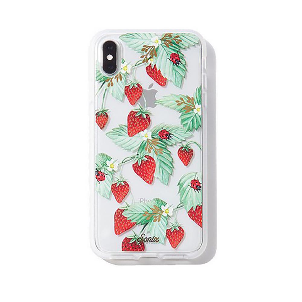 美國 Sonix|iPhone XS Max Fraise 莓果戀人軍規防摔手機保護殼