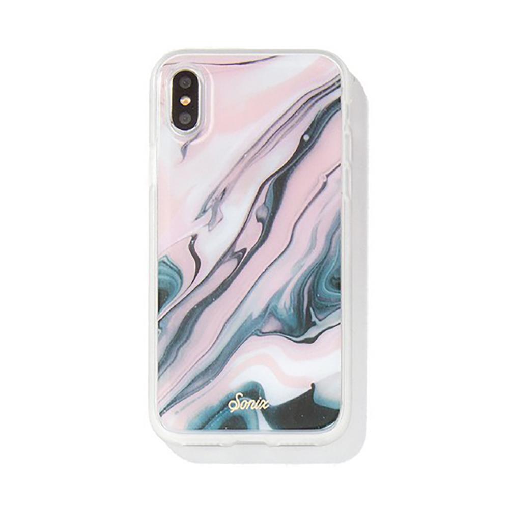 美國 Sonix iPhone XS Max Blush Quartz 石英腮紅軍規防摔手機保護殼