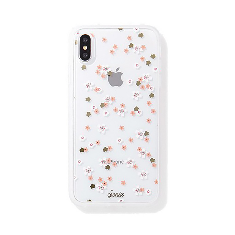 美國 Sonix iPhone XS Max Rhinestone Floral Bunch 花花世界軍規防摔手機保護殼