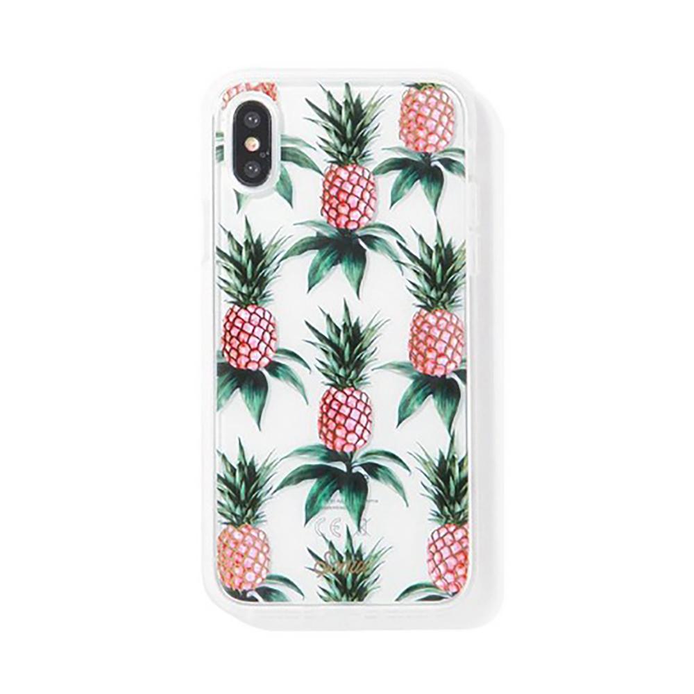 美國 Sonix|iPhone XS Max Pink Pineapple 粉紅鳳梨軍規防摔手機保護殼