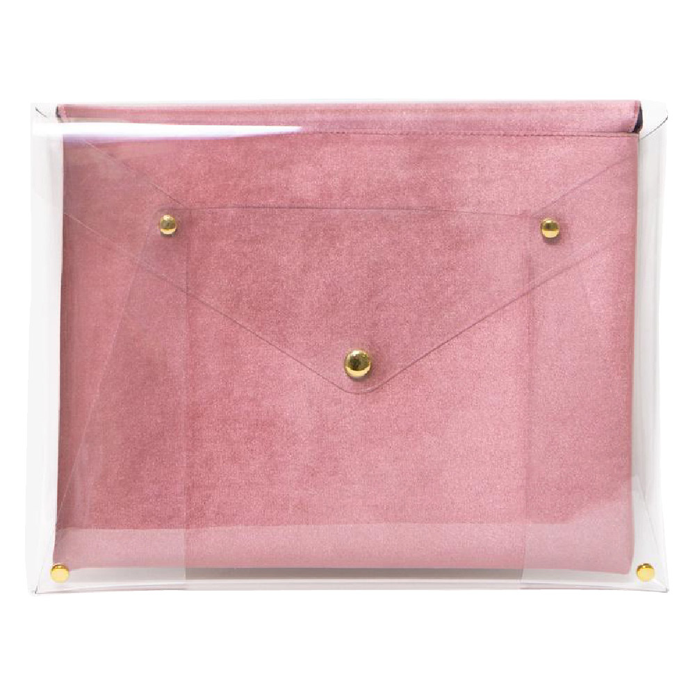 美國 Sonix|Rose Velvet Laptop Clutch 13吋絲絨玫瑰筆電包