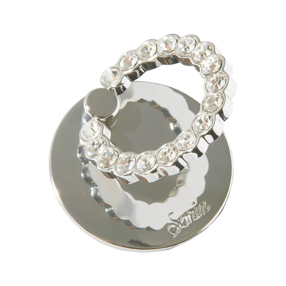 美國 Sonix|Silver 雪銀白鑽手機戒指支架