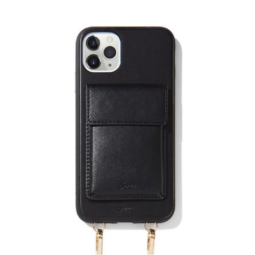 美國 Sonix iPhone 11 Pro Max Tres Case Crossbody-Black凡賽斯戀人-黑軍規防摔手機保護殼