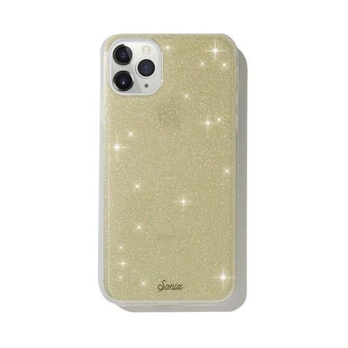 美國 Sonix|iPhone 11 Pro Max Gold Glitter 耀眼星空-金軍規防摔手機保護殼