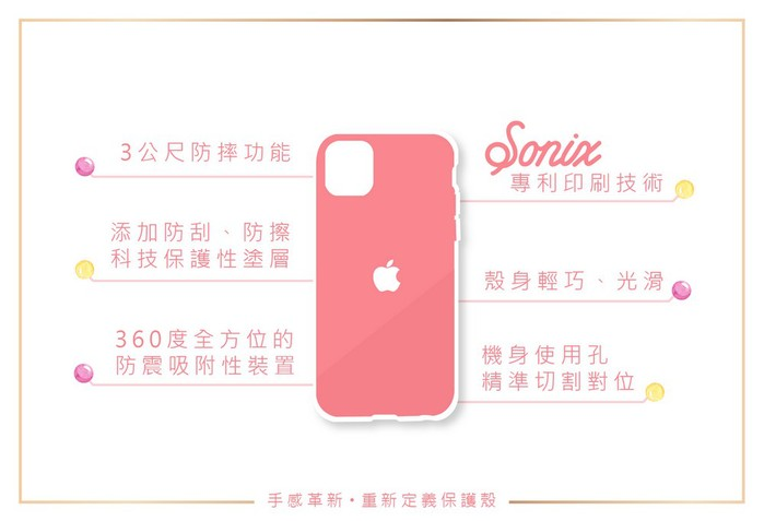 (複製)美國 Sonix|iPhone XS Max Sushi 壽司人生軍規防摔手機保護殼
