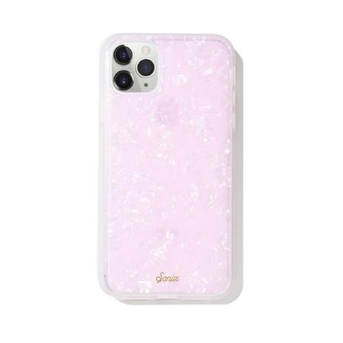 美國 Sonix|iPhone 11 Pro Max Pink Pearl Tort 粉紅貝殼軍規防摔手機保護殼