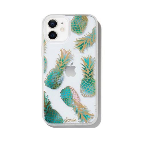 美國 Sonix|iPhone 12 mini Liana Teal 果香鳳梨抗菌軍規防摔手機保護殼