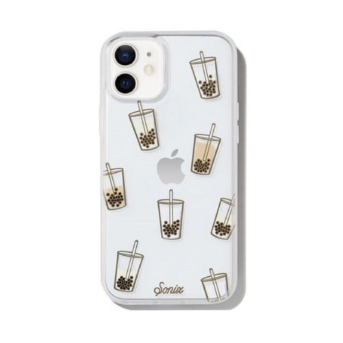 美國 Sonix|iPhone 12 mini Boba 珍珠奶茶抗菌軍規防摔手機保護殼