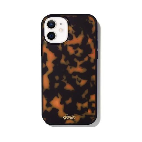 美國 Sonix|iPhone 12 mini Brown Tort 琥珀豹動抗菌軍規防摔手機保護殼