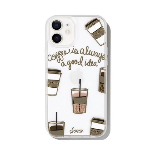 美國 Sonix|iPhone 12 mini Coffee 咖啡因子抗菌軍規防摔手機保護殼