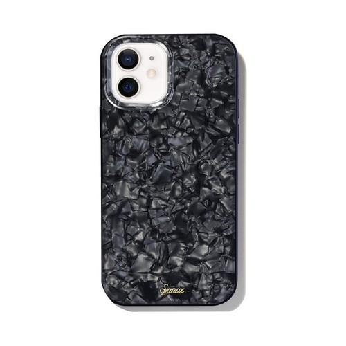 美國 Sonix iPhone 12 mini Black Pearl Tort 暗夜珍珠抗菌軍規防摔手機保護殼