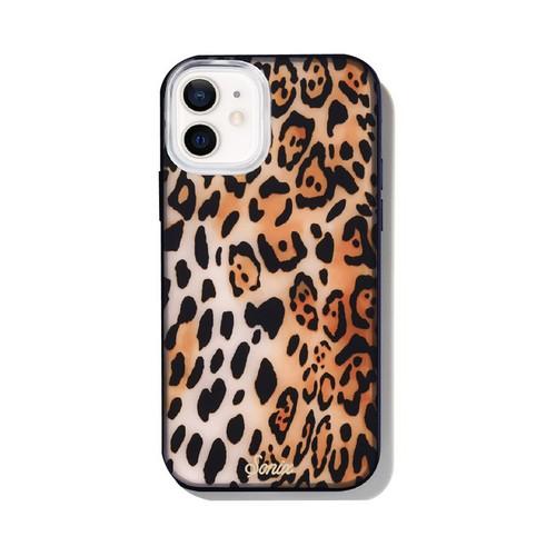 美國 Sonix iPhone 12 mini Watercolor Leopard 給我豹豹抗菌軍規防摔手機保護殼