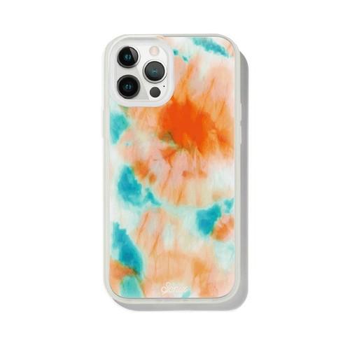 美國 Sonix|iPhone 12 Pro Max Orange Glow 螢光釉藍抗菌軍規防摔手機保護殼