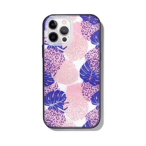 美國 Sonix|iPhone 12 / 12 Pro Monstera 熱帶天藍抗菌軍規防摔手機保護殼