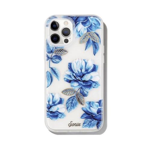 美國 Sonix|iPhone 12 / 12 Pro Indigo 花靛青抗菌軍規防摔手機保護殼