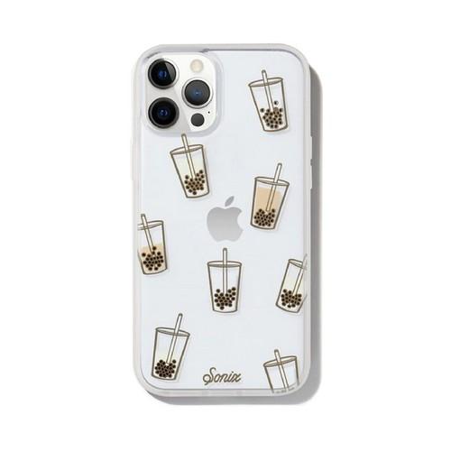 美國 Sonix iPhone 12 / 12 Pro Boba 珍珠奶茶抗菌軍規防摔手機保護殼