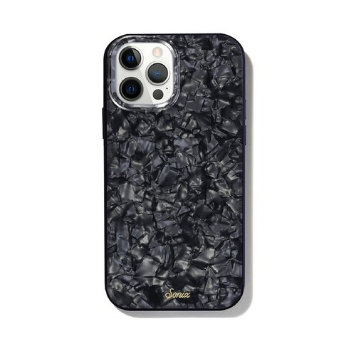 美國 Sonix|iPhone 12 / 12 Pro Black Pearl Tort 暗夜珍珠抗菌軍規防摔手機保護殼