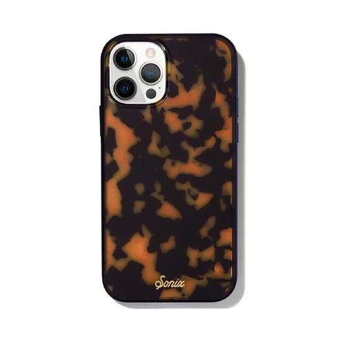 美國 Sonix|iPhone 12 Pro Max Brown Tort 琥珀豹動抗菌軍規防摔手機保護殼