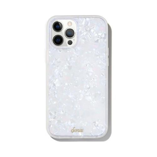 美國 Sonix|iPhone 12 Pro Max Pearl Tort 珍珠貝殼抗菌軍規防摔手機保護殼