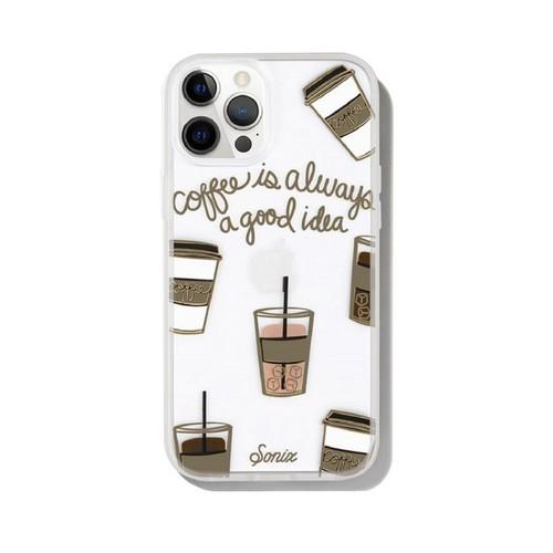 美國 Sonix|iPhone 12 Pro Max Coffee 咖啡因子抗菌軍規防摔手機保護殼