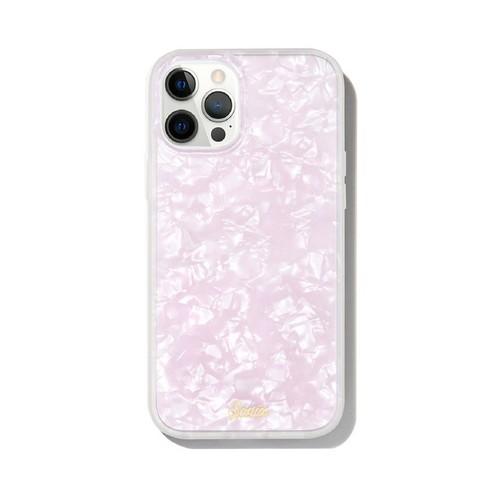 美國 Sonix|iPhone 12 Pro Max Pink Pearl Tort 粉紅貝殼抗菌軍規防摔手機保護殼