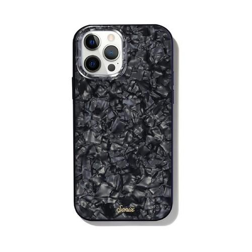 美國 Sonix|iPhone 12 Pro Max Black Pearl Tort 暗夜珍珠抗菌軍規防摔手機保護殼