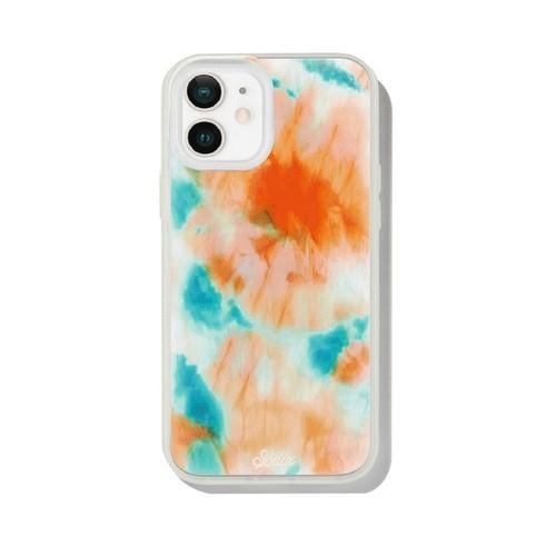 美國 Sonix|iPhone 12 mini Orange Glow 螢光釉藍抗菌軍規防摔手機保護殼