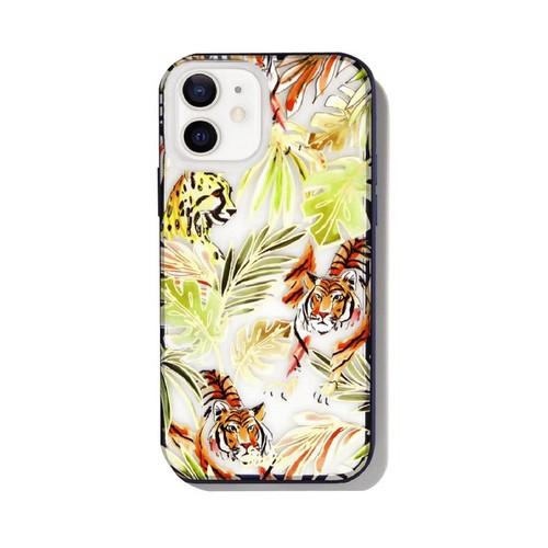 美國 Sonix|iPhone 12 mini Cool Cats 貓科動物抗菌軍規防摔手機保護殼