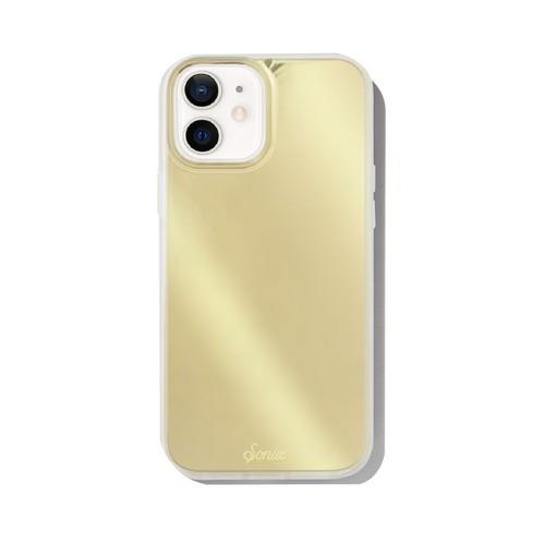 美國 Sonix|iPhone 12 mini Gold Chrome 小金人抗菌軍規防摔手機保護殼