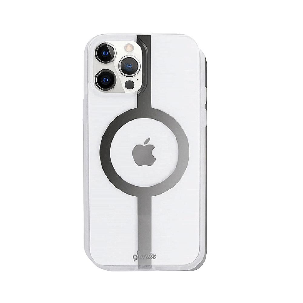 美國 Sonix iPhone 12 Pro Max MagSafe 萬有引力-銀抗菌軍規防摔手機保護殼