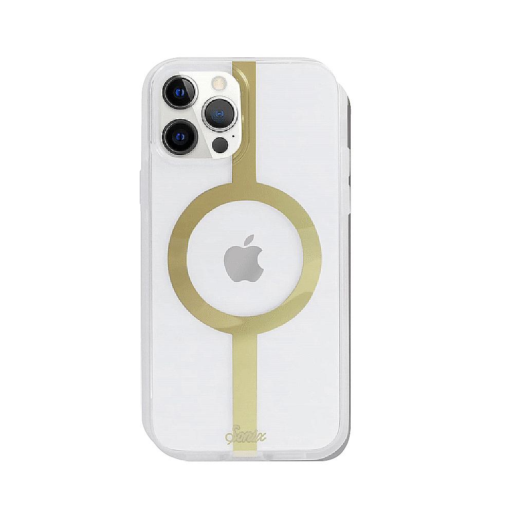 美國 Sonix|iPhone 12 Pro Max MagSafe 萬有引力-金抗菌軍規防摔手機保護殼