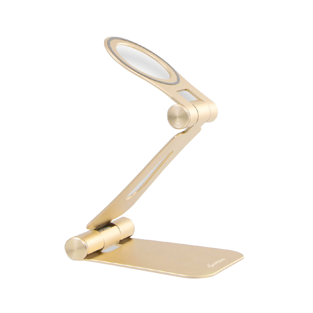 美國 Sonix Pedestal Magnetic Phone Stand-Gold 具磁性手機座-閃耀金