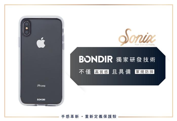 (複製)美國 BONDIR iPhone X/XS Black Stripe 黑磨坊軍規防摔手機保護殼