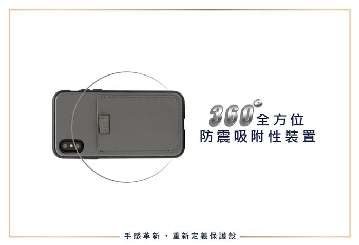 (複製)美國 BONDIR iPhone X/XS Clear 透清新軍規防摔手機保護殼