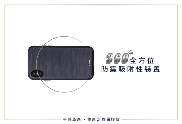 (複製)美國 BONDIR|iPhone X/XS Gray Leather Wallet Case 格雷陰影軍規防摔手機保護殼