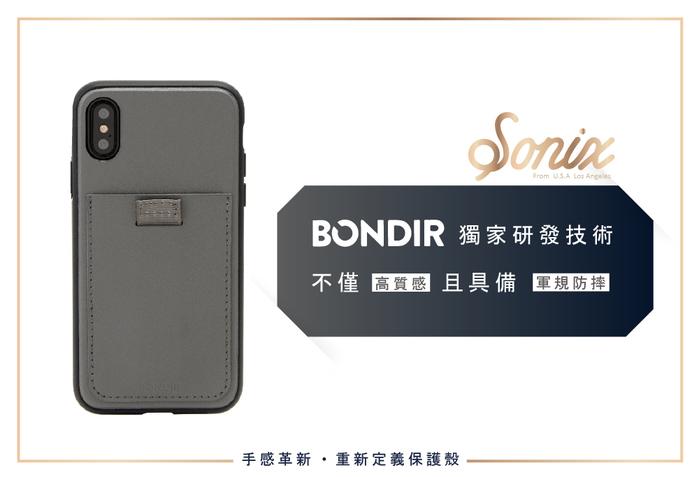 (複製)美國 BONDIR|iPhone XS Max Black Leather Wallet 黑寡婦軍規防摔手機保護殼