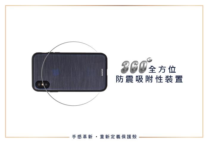 (複製)美國 BONDIR|iPhone XS Max Gray Leather Wallet Case 格雷陰影軍規防摔手機保護殼