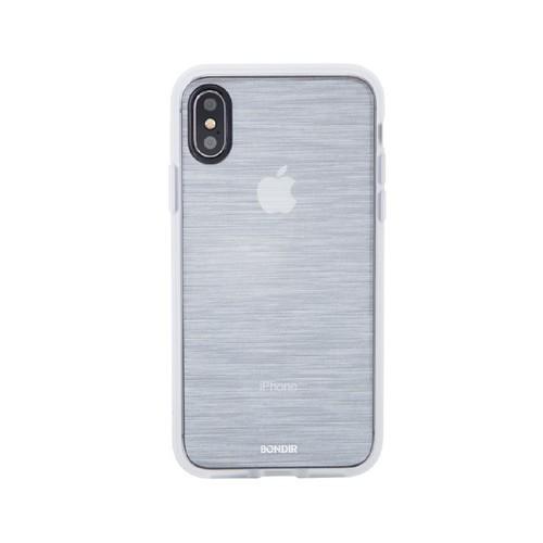 美國 BONDIR|iPhone XS Max Mist-Silver 深海薄霧-銀軍規防摔手機保護殼