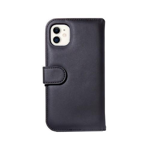 美國 BONDIR iPhone 11 Detachable Wallet Black 沉穩黑皮套式軍規防摔手機保護殼
