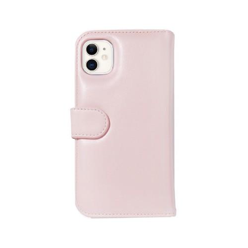 美國 BONDIR|iPhone 11 Detachable Wallet Pink 粉紅皮套式軍規防摔手機保護殼